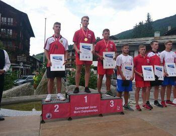 Młodzi rzutowcy na Mistrzostwach Świata w Szwajcarii !