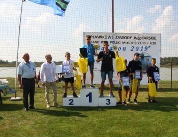 Sukces młodych zawodników na Grand Prix Polski Młodzieży w Spławiku