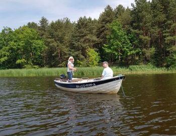 Jezioro Góra – wędkowanie z łodzi