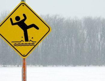 Pokrywa lodowa - dot. organizacji zawodów podlodowych - 15 cm!