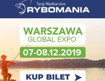 Targi wędkarskie Rybomania w Warszawie