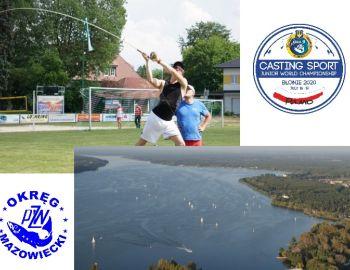 Rzutowe MŚ Juniorów 2020 odbędą się Błoniu! - Okręg Mazowiecki organizatorem spinningowych MŚ 2020!