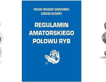 Regulamin Amatorskiego Połowu Ryb - Uwaga, zmiany od 1.01.2020r.!