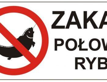 Zakaz połowu ryb - dot. wybranych  portów !